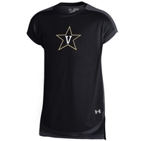 Under Armour Youth Girl Pointelle T Shirt