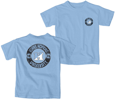 Blue 84 Youth Short Sleeve Ringspun Cotton T Shirt