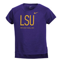 Nike Legend Girls Drop Tail Tee