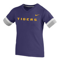 Youth Nike Fan Short Sleeve V Neck T Shirt
