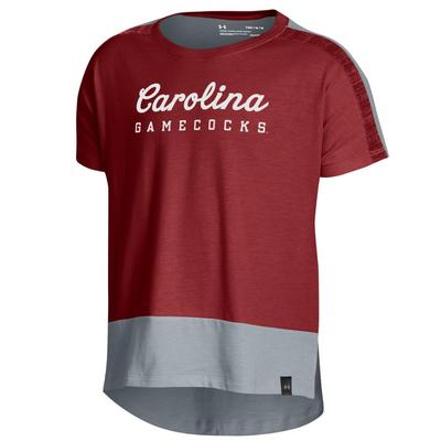 Under Armour Girls Ascend SS Tee