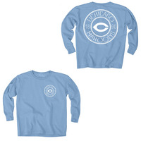 Blue 84 Youth Long Sleeve Ringspun Cotton T Shirt