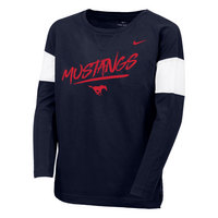 Youth Nike Cotton Top Long Sleeve T Shirt
