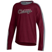 Under Armour Girls Ascend Long Sleeve Tee