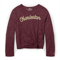 League Youth Girls LS Knot Tee