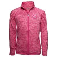 Garb Youth Girls Space Dye Full Zip Jacket