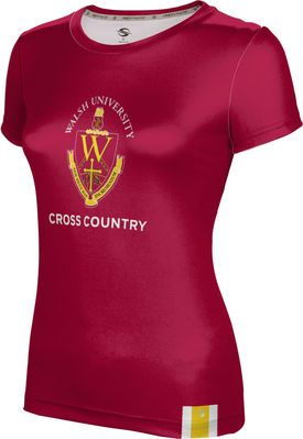 Prosphere Girls Sublimated Tee Cross Country