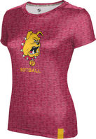 ProSphere Softball Youth Girls Short Sleeve Tee