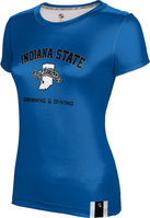 ProSphere Swimming & Diving Youth Girls Short Sleeve Tee