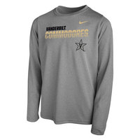 Youth Nike Legend Sideline Long Sleeve T Shirt