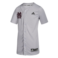 Adidas Diamond King Elite Full Button Jersey Youth