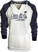 Blue 84 French Terry V Neck Hood