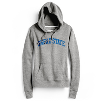 RED SHIRT HOODIE ATHLETIC GREY