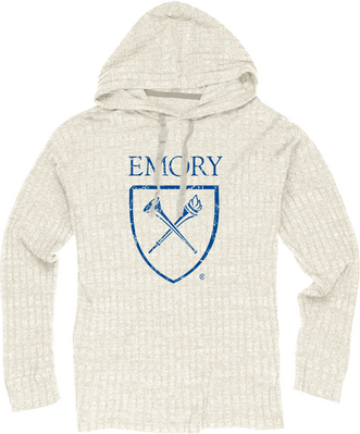 Blue 84 Ribbed Hacci Pullover Hoodie