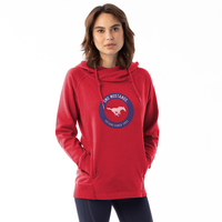 Womens Centered Frolic Pullover Hoodie
