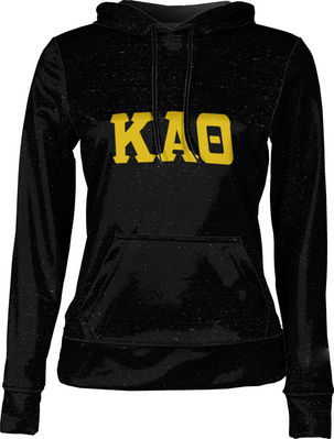 Kappa Alpha Theta Womens Pullover Hoodie Heather