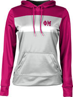 Phi Mu Womens Pullover Hoodie Heather
