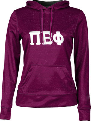 Pi Beta Phi Womens Pullover Hoodie Heather