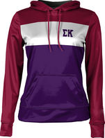 Sigma Kappa Womens Pullover Hoodie Heather