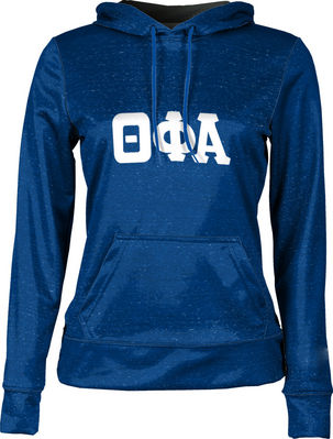 Theta Phi Alpha Womens Pullover Hoodie Heather