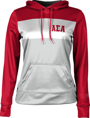 Alpha Sigma Alpha Womens Pullover Hoodie Heather