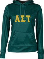 Alpha Sigma Tau Womens Pullover Hoodie Heather