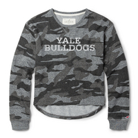 League Camo Terry Crew