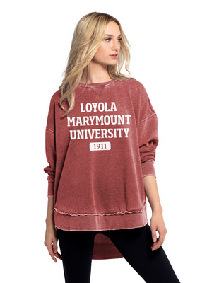 Womens Burnout Campus Pullover