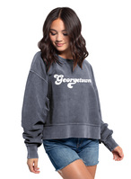 Chicka D Corded Boxy Pullover
