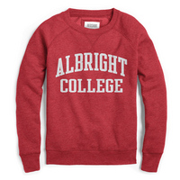 Red Shirt Raglan Crew