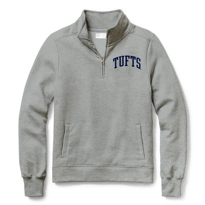 Tufts University Bookstore - Red Shirt Classic Quarter Zip 6f8eb277d