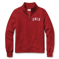 Red Shirt Womens Classic Quarter Zip