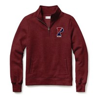 Red Shirt Classic Quarter Zip