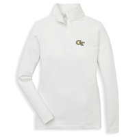 Peter Millar Ladies Quarter Zip Stretch Terry