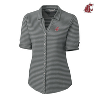 Cutter & Buck Ladies Academy Stripe (Online Only)
