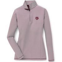 Peter Millar Sophie Stripe Quarter Zip
