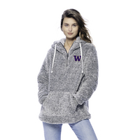 Hooded Fauxy Quarter Zip Spirit Jersey