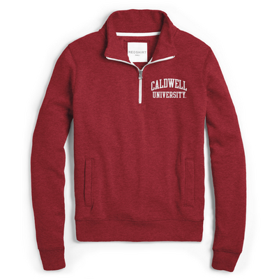 Red Shirt Quarter Zip