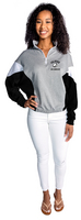 U Trau Colorblock Quarter Zip