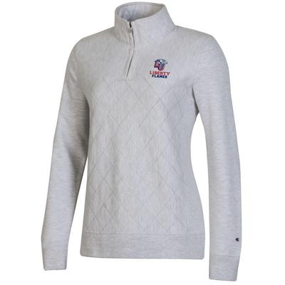 Champion Reverse Weave Quilted Quarter Zip