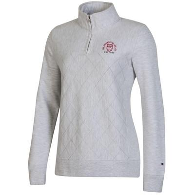 Champion Womens Reverse Weave Quilted 14 Zip