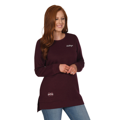 UG Apparel Missy Quilted Pocket Tunic