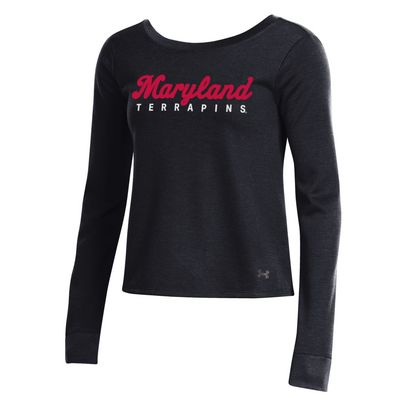 Under Armour Double Knit Jersey Crossback Crew