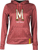 ProSphere Softball Womens Pullover Hoodie
