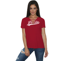Retro Brand Lace Up T Shirt
