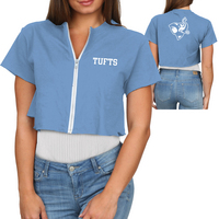 Retro Brand Zip T Shirt