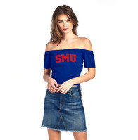 Spirit Jersey Off the Shoulder Tube Top