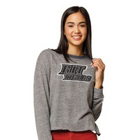 League Womens Intramural Cropped Long Sleeve