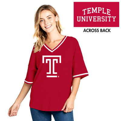 Short Sleeve Contrast V Neck Spirit Jersey