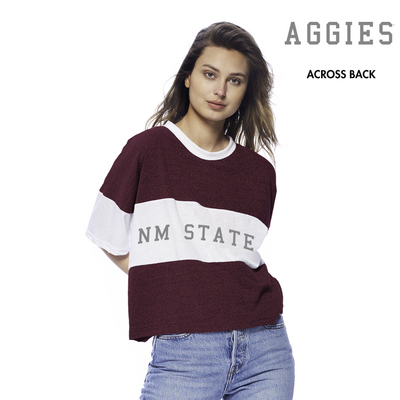 Colorblock Cropped Short Sleeve Spirit Jersey